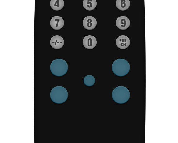 08 5 Create A Realistic TV Remote Controller In Photoshop