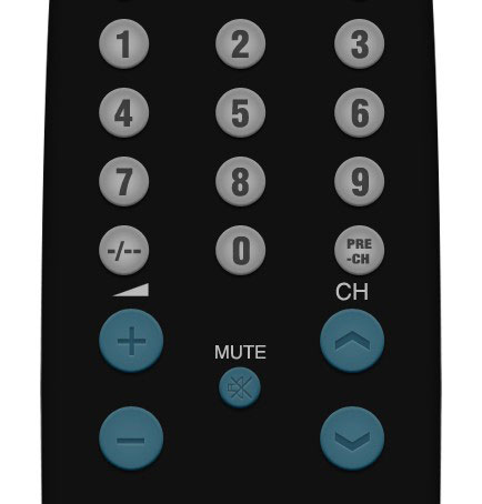 09 2 Create A Realistic TV Remote Controller In Photoshop