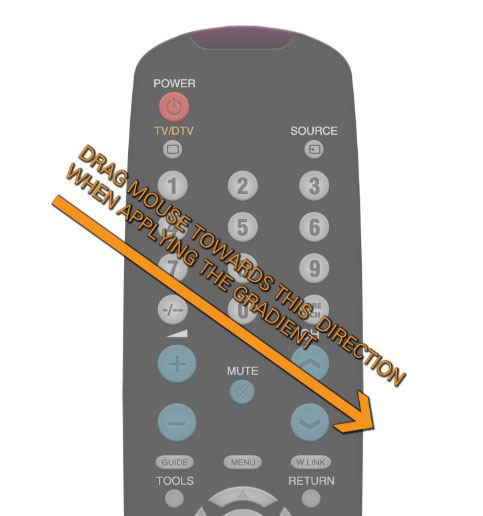 18 1 Create A Realistic TV Remote Controller In Photoshop