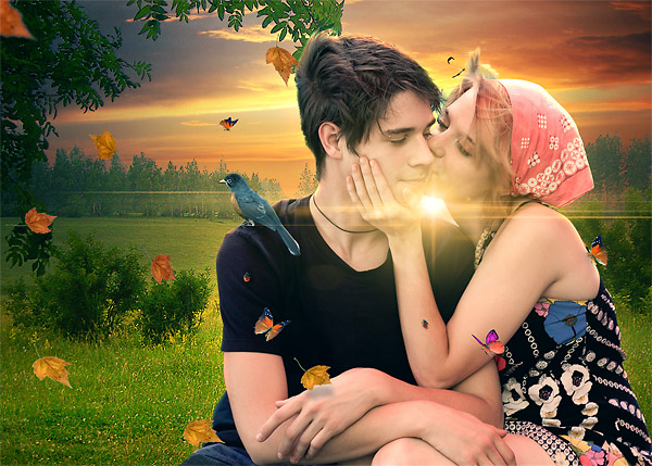 final result small Mind Blowing Valentine's Day Photo Manipulation Tutorial